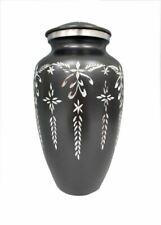 Mini Keepsake Urn Small Cremation Ashes Funeral Memorial Black Diamond Cut