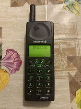 Vintage mobile phone ERICSSON GH688 Cellulare con caricatore e batteria 1997
