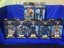 Marvel Legends X-MEN series SugarMan baf complete lot of 7 figures