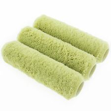 Coral Endurance Paint Roller Covers long Pile Acrylic Sleeve Fabric 3 piece