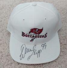 WARREN SAPP TAMPA BAY BUCCANEERS NFL LOGO 7 SIGNED HAT CAP -  New Authentic