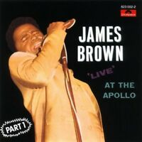 JAMES BROWN - LIVE AT THE APOLLO 1  CD NEW!