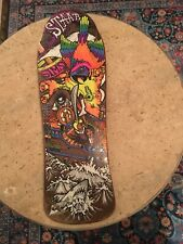 (Rare) Vintage 1980's Sims Kevin Staab Pirate Mini Skateboard Deck