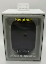 Heyday Cylinder Portable Bluetooth Speaker With Strap Rechargeable 33ft Range