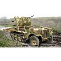2CM FLAK 38 GUN AT SFL SDKFZ.10/4 1/72 ACE 72286