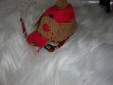 Red TRAPPER HAT Dog Cap Good2Go new S/M bomber cat