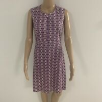 Tailored Gorgeous Sleeveless JAG dress Multi Coloured Size 10