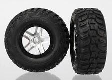 Traxxas Reifen auf Felge KUMHO Slash 4x4 schw/satin - TRX6874