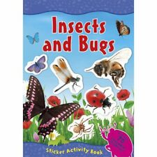 Insects and Bugs Sticker Activity Book With Over 70 Reusable Stickers Al