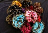 SCRUNCHIE HAIR SCRUNCHY PONYTAIL HOLDER TIE ELASTIC HAIR BOBBLE 24pcs joblot