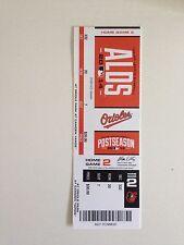 Baltimore Orioles Unused ALDS Home Game 2 Ticket Stub 2014