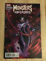 Monsters Unleashed #2 2017 1st Series Medusa 1:25 Retailer Incentive Variant
