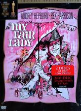 MY FAIR LADY - AUDREY HEPBURN, REX HARRISON - (2) DVD SET - SPECIAL ED. - SEALED
