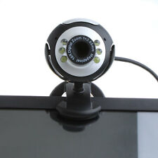6 LED 50 Mega Pixel HD Webcam with Microphone for PC Laptop Skype UK Shipping