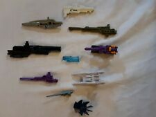 Vintage G1 TRANSFORMERS Weapon Armour Lot OF 10 1980'S lot # 4
