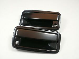 Metal FRONT Outside PAIR Door HANDLES 1988-1994 Chevy GMC C/K SILVERADO SIERRA