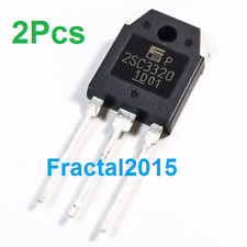 2 PCS 2SC3320 C3320 Fuji Power Transistor TO-3P