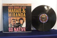 Marais & Miranda, Go Native, Kapp Records KS 3180, South Africa Veld, Folk