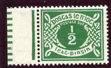 Ireland 1940 KGVI Postage Due ½ d emerald-green superb MNH. SG D5. Sc J5.