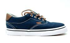 New Vans Era 59 Lace Up Toddler Kids Blue Denim Low Top Shoes US 10 EU 26.5