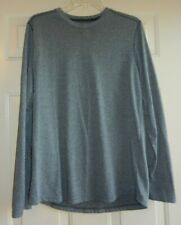 Under Armour Men'S Gray Long Sleeve Loose Heat Gear Gray Shirt Size M