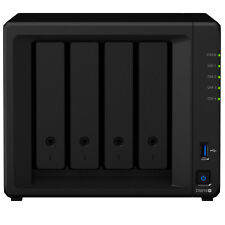 Synology DS918 Plus 4 Bay NAS Intel Quad Core 1.5GHz 0TB 4GB USB Network Storage