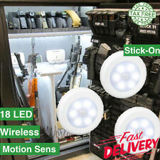 3PK Stack-On Gun Safe Cabinet Vault LIGHT Motion Sensitive LED Security Battery