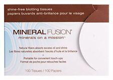 Mineral Fusion Shine-free Blotting Tissues - 10 packs, 100 tissues per pack