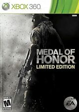 XBOX 360 Medal Of Honor Video Game LIMITED EDITION online multiplayer shooter