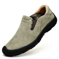 2019 Mens Slip On Sports Outdoor Sneakers Casual Trail Running Hiking Shoes Gray