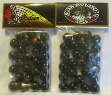 2 Bags Of Indian Motorcycle Made In USA Promo Marbles