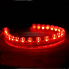 24cm Red LED Flexible Neon Strip Light for Car or Van