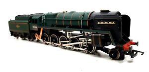 HORNBY MODEL RAILWAY R.065 Class 9F BR EVENING STAR OO TRAIN