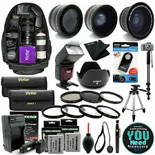 Canon Rebel T5i T4i T3i  Digital SLR Camera Everything You Need Accessory Kit