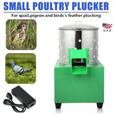 Auto Poultry Plucker Birds Depilator Duck Chicken Feather Removal Machine Hot