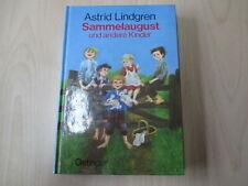Astrid Lindgren - SAMMELAUGUST und andere Kinder - Oetinger - HC - (21255)