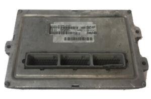 2001 Dodge Dakota 4.7L AT ECM PCM Engine Control Module   P56040283AF