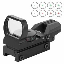 Reflex Sight  Red Dot Sight Scope 4 Reticles Green Red For Picatinny Rail Mount