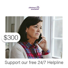 $300 Charitable Donation For: the nearly 300,000 calls to our 24/7 Helpline