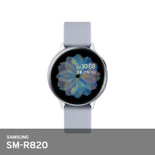 "Samsung Galaxy Watch Active 2 44mm Aluminum WiFi 1.15GHz 4Gb 1.4"" 30g UPS Silver"