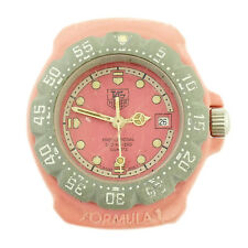 TAG HEUER FORMULA 1 PROF 200M LADIES PINK WATCH HEAD FOR PARTS OR REPAIRS