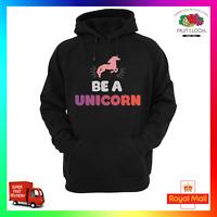 Be A Unicorn Fairy Hoodie Hoody Cute Sweat Fantasy Fleek On Point Warm Baggy