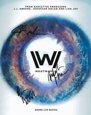 Westworld In-Person AUTHENTIC Autographed Cast Photo COA SHA #42188