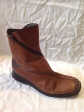 Remonte Brown Ankle Leather Boots Size 38