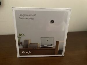 Google Nest Learning Thermostat 3rd Generation Stainless Steel - Brand New
