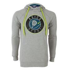 ASICS PADEL GRAPHIC HOODIE Men's Gray Casual Apparel Outdoor Tennis 132407-0714