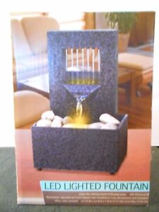 Lighted LED Fountain  New