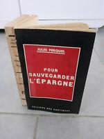 Envío De Autor - Jules Perquel - Para Ahorre L Ahorro-1931