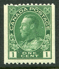 Canada # 131 Fine Never Hinged Issue - Horizontal Perf King George V - S6218