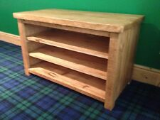 3ft Rustic TV Unit 3 shelves (Made to any size)